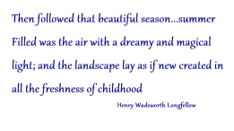 summer longfellow