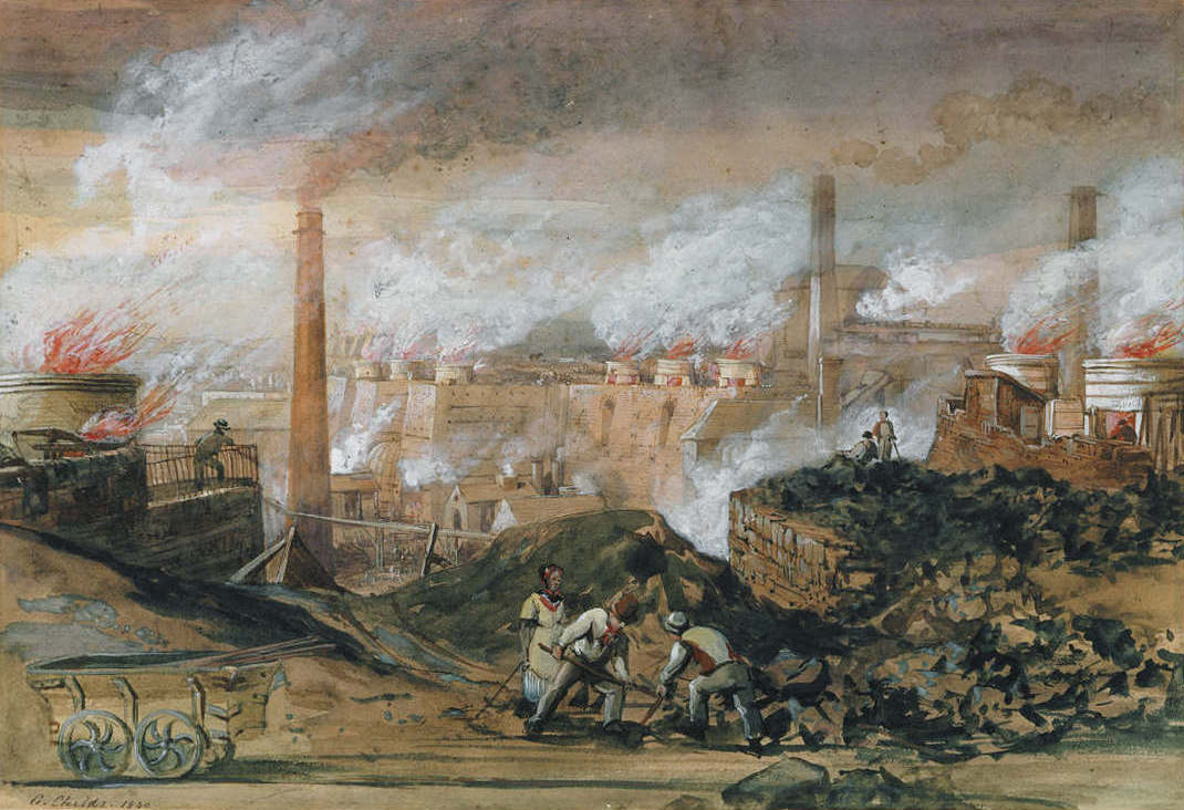 George_Childs_Dowlais_Ironworks_1840