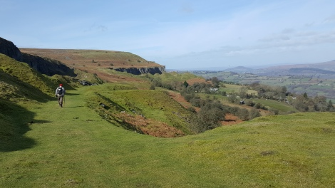 llangattock escarpment 14 mar 2017